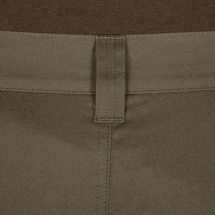Pantalon chasse 100 vert