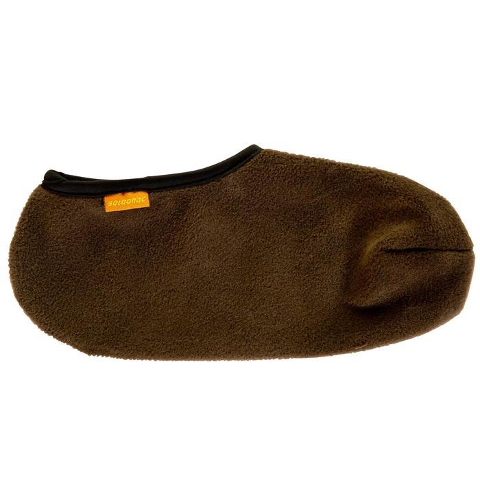 Fleece laarssokken Sibir 300 bruin