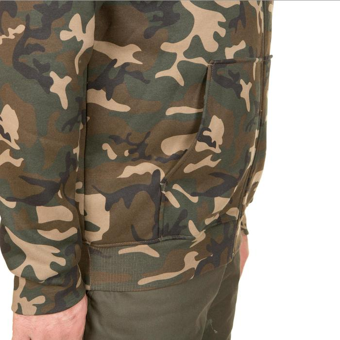 Sweat chasse avec zip 300 camouflage Woodland - 282923