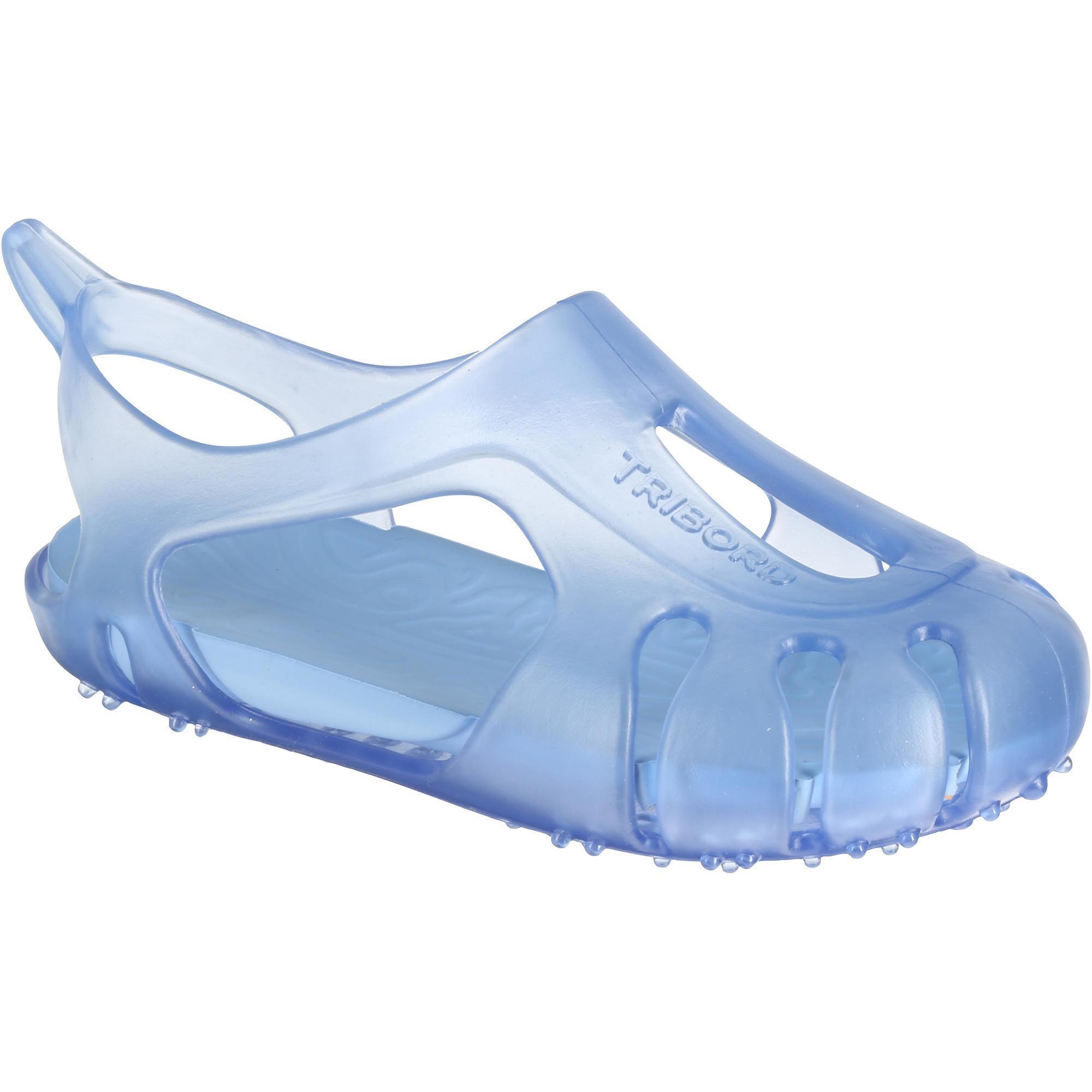 chaussons natation bebe aquashoes ssl 100 bb bleu nabaiji. Black Bedroom Furniture Sets. Home Design Ideas