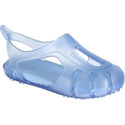 Escarpines natación bebé azul