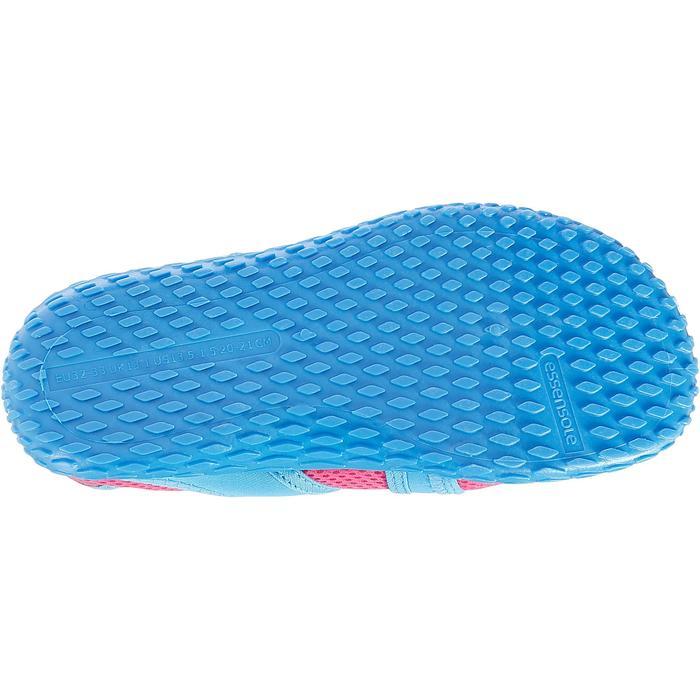Chaussures aquatiques Aquashoes 100 noires turquoises - 28300