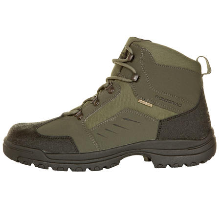 100 Waterproof Hunting Boots - Green