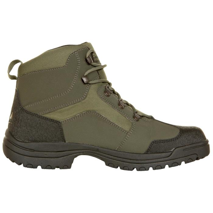 Chaussure chasse land 100 imperméable vert - 283061