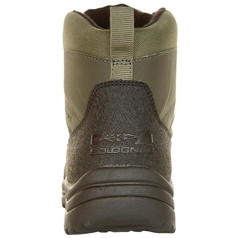 100 waterproof hunting boots green