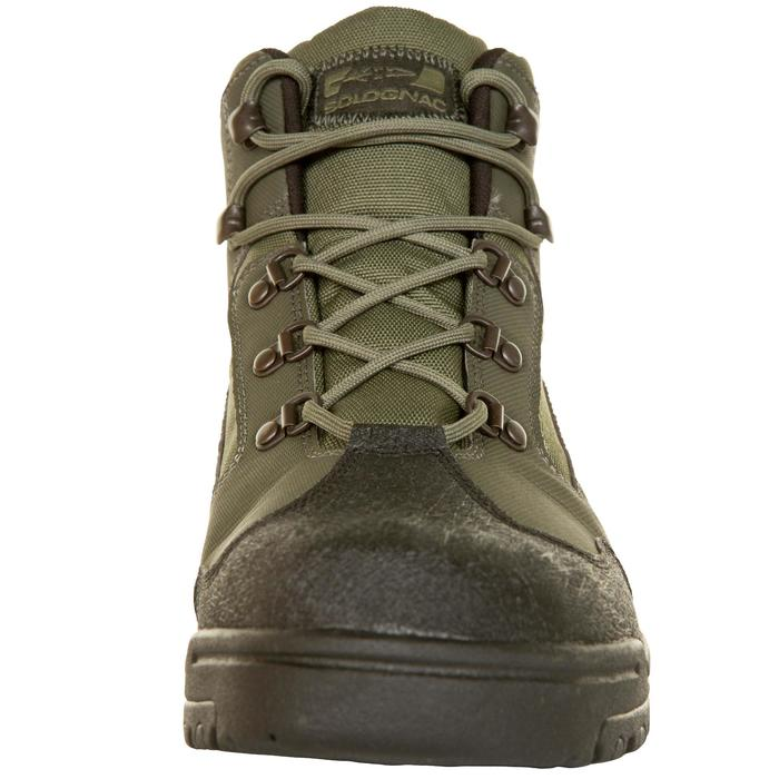 Chaussure chasse land 100 imperméable vert - 283065