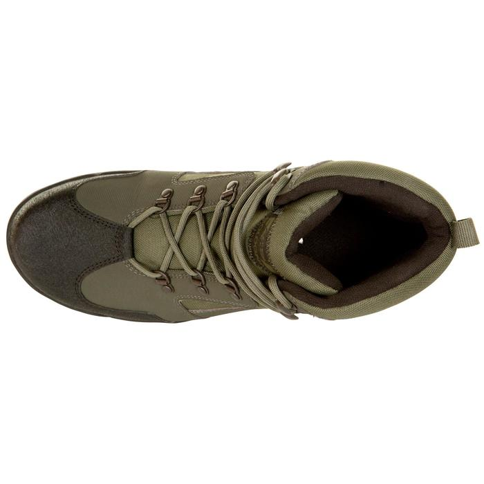 Chaussure chasse land 100 imperméable vert - 283068