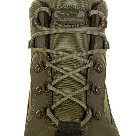 Land 100 Waterproof Hunting Shoes - Green