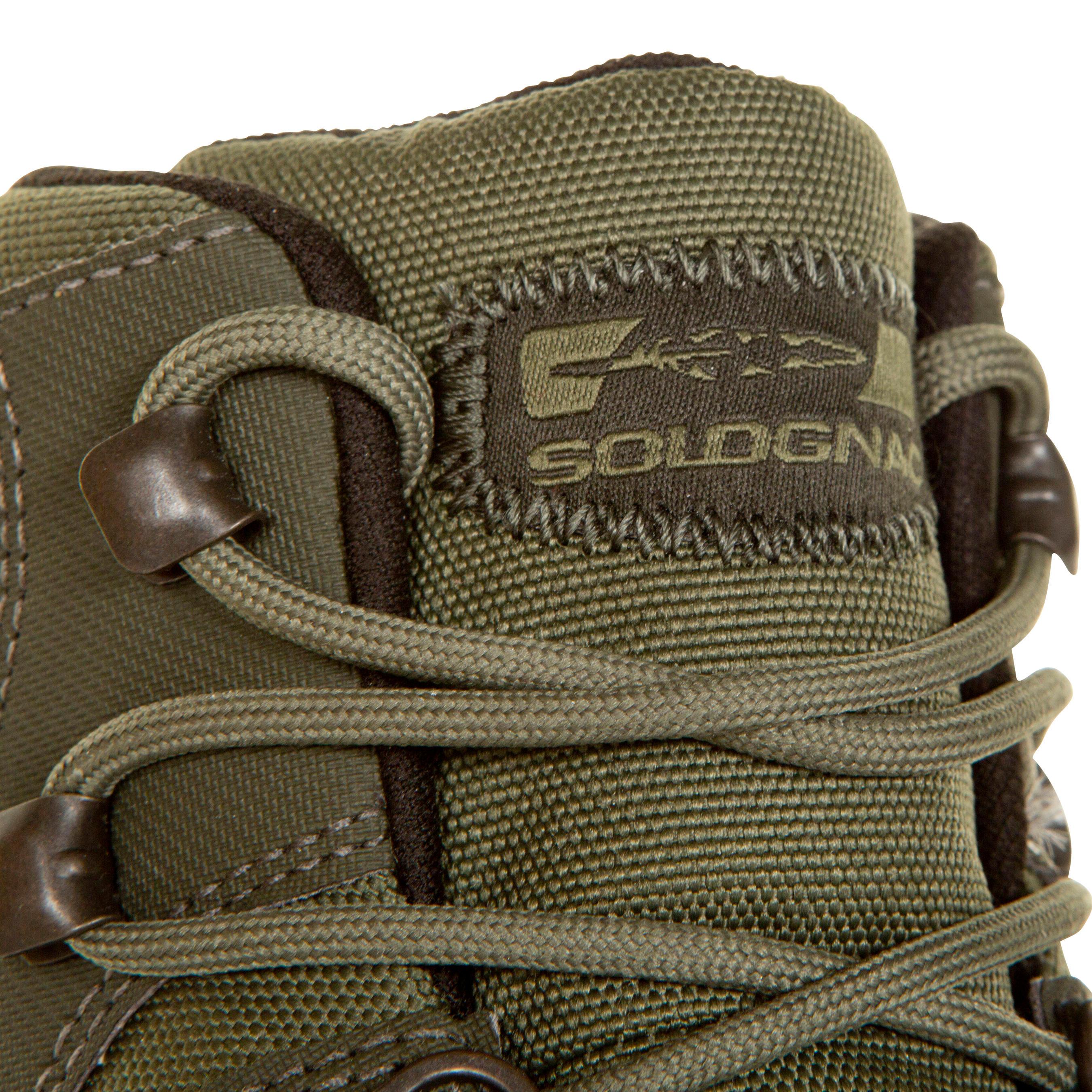 Land 100 waterproof hunting boots green