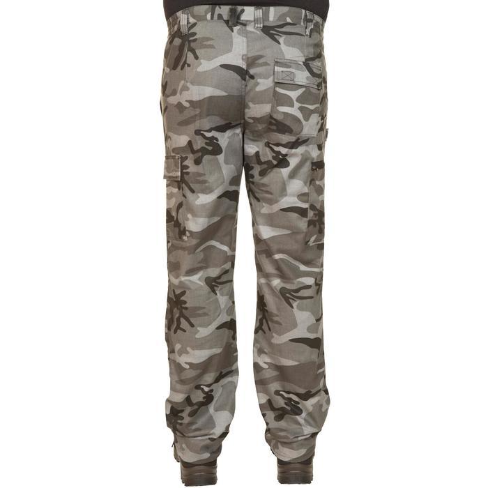 Pantalón de caza Steppe 300 Woodland negro