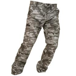 Jagdhose Steppe 300 Camouflage schwarz