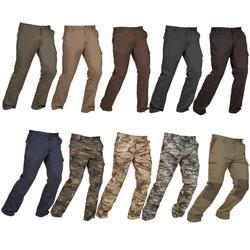 Pantalon chasse STEPPE 300 gris