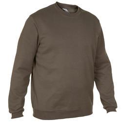 狩獵針織衫100-綠色