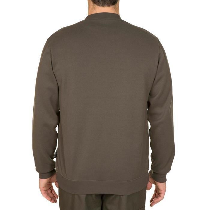 狩獵立領針織衫100-綠色