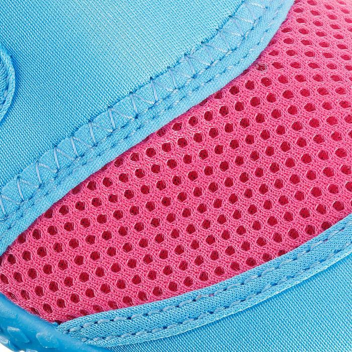 Chaussures aquatiques Aquashoes 100 noires turquoises - 28318
