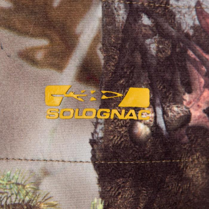 Veste chasse silencieuse Actikam 500 camouflage marron - 283230
