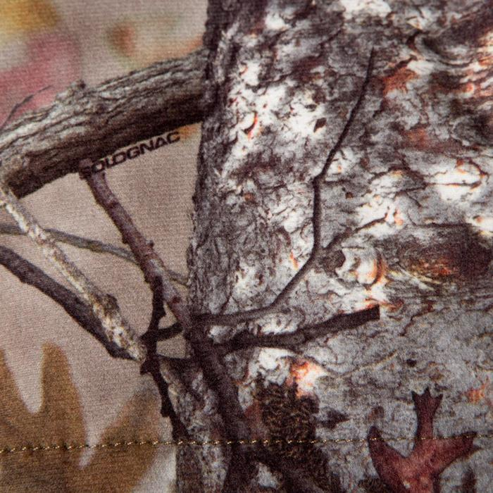 Veste chasse silencieuse Actikam 500 camouflage marron - 283231