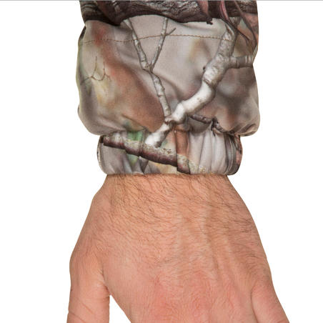 Куртка Actikam 500 для полювання, безшумна - Коричневий камуфляж