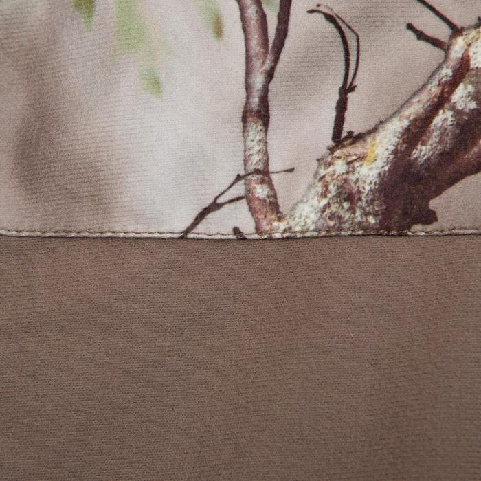 Veste chasse silencieuse Actikam 500 camouflage marron - 283237