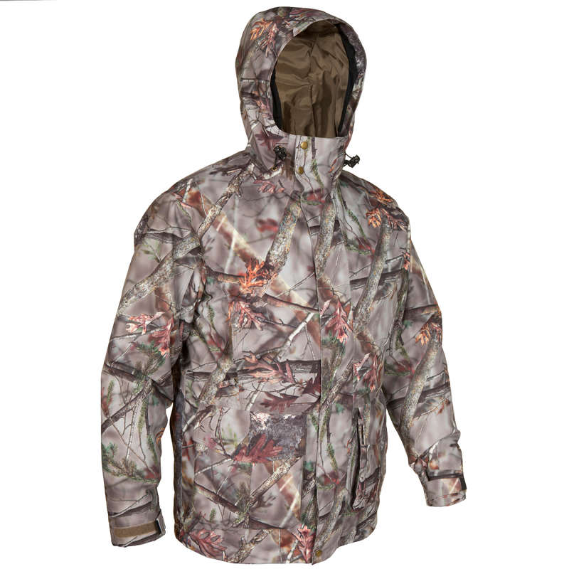 POSTED CAMOUFLAGE CLOTHING - POSIKAM 100 Waterproof Parka SOLOGNAC