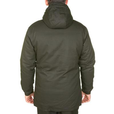 Куртка-парка 100 для полювання - Зелена