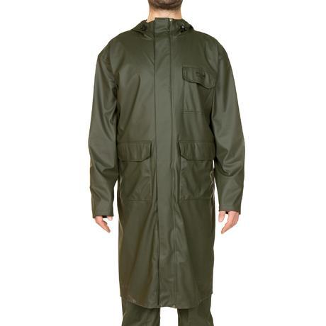 Glenarm 300 Long Hunting Coat Green Solognac