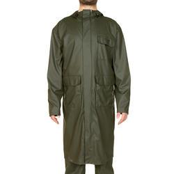 Lange driekwartjas Glenarm 300 voor de jacht groen - 283557