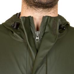 Lange driekwartjas Glenarm 300 voor de jacht groen - 283567