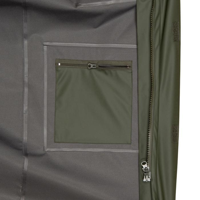 Abrigo Caza Solognac Sg Glenarm 300 Impermebale Largo Resistente Verde