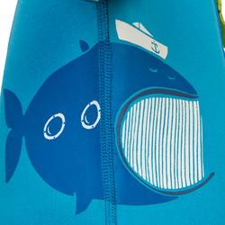Kindershorty 100 voor snorkelen blauw/groen - 285817