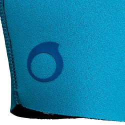 Kindershorty 100 voor snorkelen blauw/groen - 285820