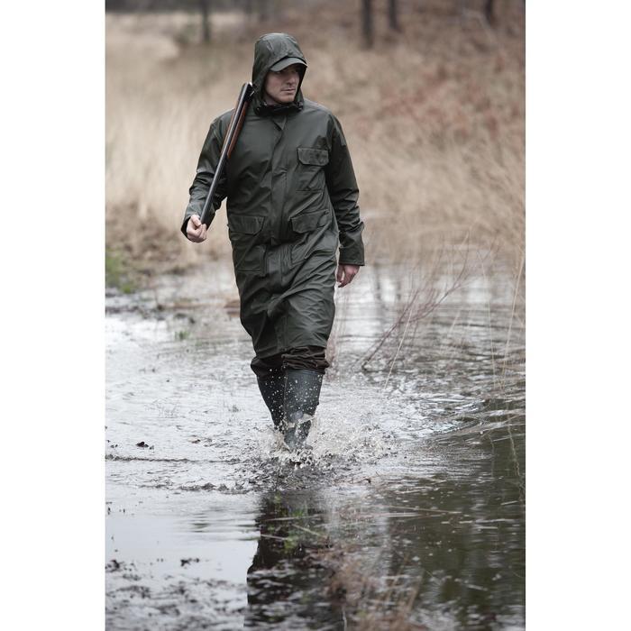 Manteau long de chasse Glenarm 300 vert - 286103