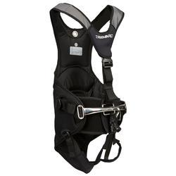 Cinturón de trapecio Vela Dinghy 500 negro/gris