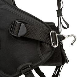 Trapezegordel voor zeilen volwassenen zwart/grijs - 287768