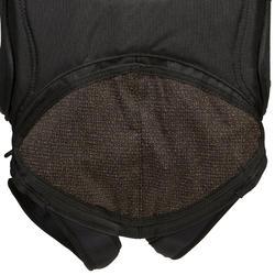 Trapezegordel voor zeilen volwassenen zwart/grijs - 287769