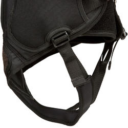 Trapezegordel voor zeilen volwassenen zwart/grijs - 287770