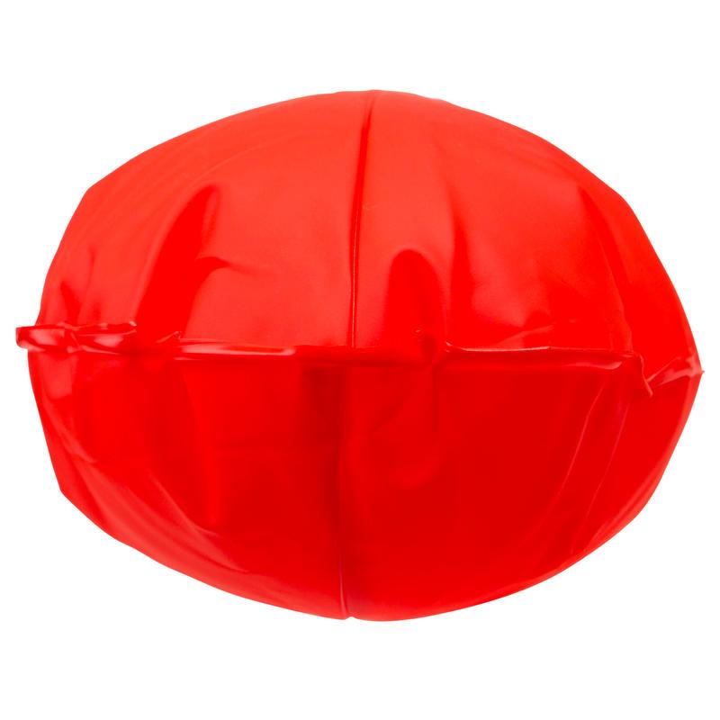 Bouée de snorkeling SB100 adulte ou enfant rouge
