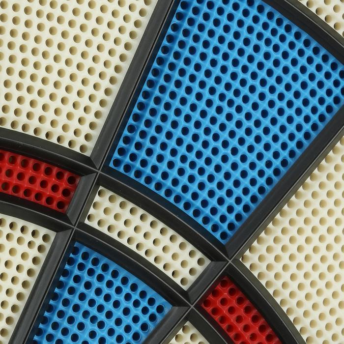 Dartscheibe Plastip Softdart mit 3 Pfeilen