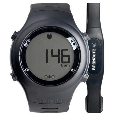 שעון דופק ONRHYTHM 110 לריצה - שחור