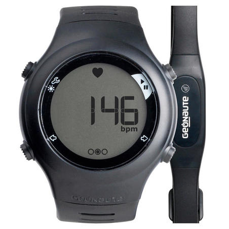 ساعة رصد ضربات القلب لممارسي رياضة الجري ONRHYTM 110