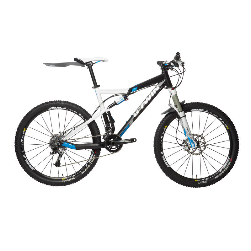 Flash Front Mountain Bike Mudguard - Black