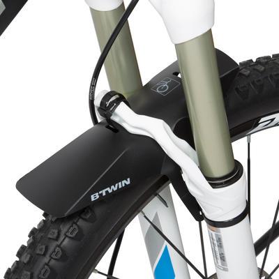 Переднє крило Flash для гірського велосипеда - Чорне