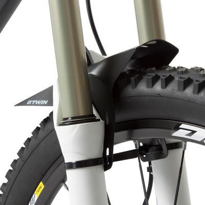 GUARDABARROS FLASH Bicicleta MTB DELANTERO NEGRO