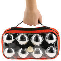 Set of 8 Recreational Petanque Balls