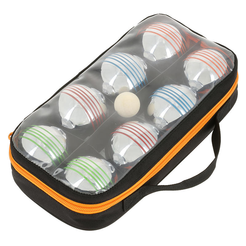 Set of 8 Recreational Coloured Petanque Boules