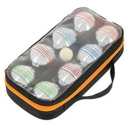 Set van 8 petanqueballen voor recreatief petanque