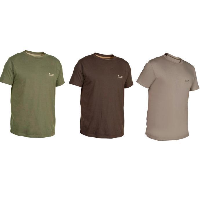 Tee shirt steppe 100  manches courtes - 288919