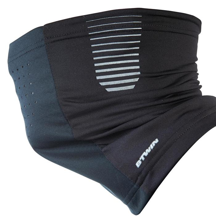 Fiets sjaal 700 winddicht zwart