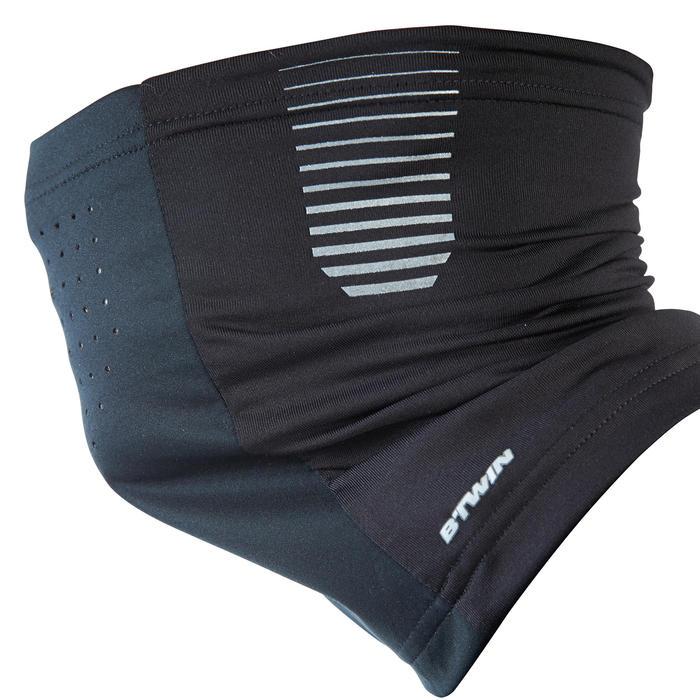 b 39 twin tour de cou velo 700 coupe vent noir decathlon. Black Bedroom Furniture Sets. Home Design Ideas