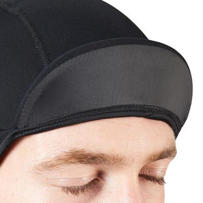 Шапка-підшоломник 700 для велоспорту, вітронепроникна - Чорна